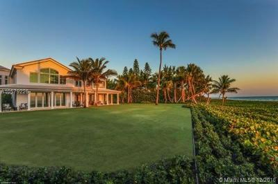Hobe Sound FL Single Family Home For Sale: $16,950,000
