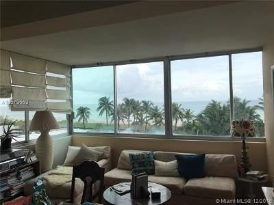 Miami Beach Condo For Sale: 5055 Collins Ave #4C