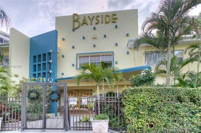 Miami Beach Condo For Sale: 910 Bay Dr #23