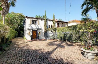 Miami Beach Single Family Home For Sale: 5940 Alton Rd
