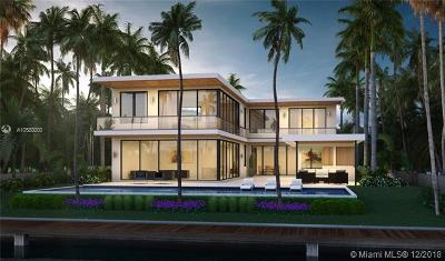 Miami Beach FL Single Family Home For Sale: $14,000,000