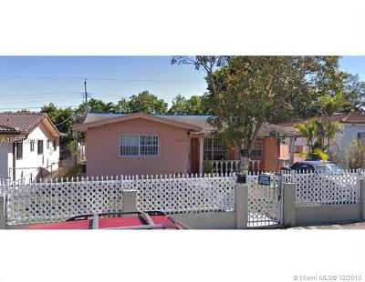 Single Family Home For Sale: 5560 SW 5th Ter
