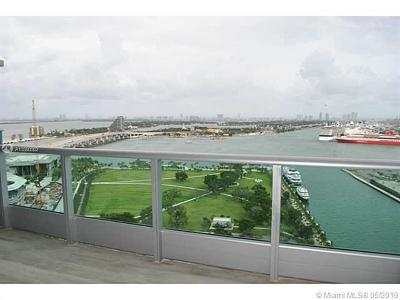 900 Biscayne, 900 Biscayne Bay, 900 Biscayne Bay Condo Rental For Rent: 900 Biscayne Blvd #2702