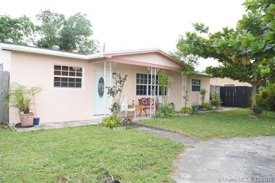 Hollywood Single Family Home For Sale: 331 N 69th Ter