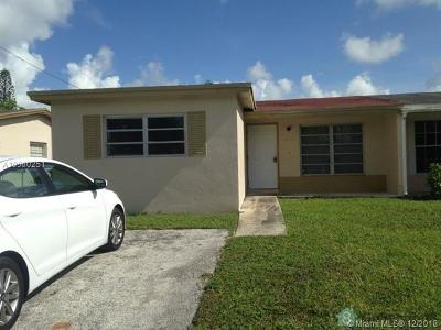 North Lauderdale Single Family Home For Sale