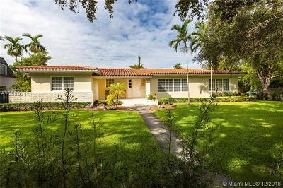 Coral Gables Single Family Home For Sale: 1300 Country Club Prado