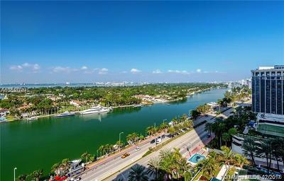 Miami Beach Condo For Sale: 4747 Collins Ave #1505
