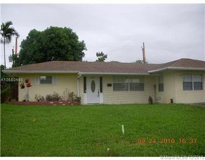 Fort Lauderdale Single Family Home For Sale: 2832 SW 3rd St