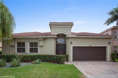 Pembroke Pines Single Family Home For Sale: 1471 SW 171st Ter
