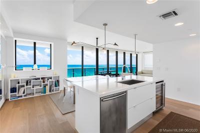 Mei, Mei Condo, Mei Condominium Condo For Sale: 5875 Collins Ave #1102