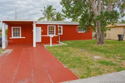 North Miami Beach Single Family Home For Sale: 15 NE 169th St