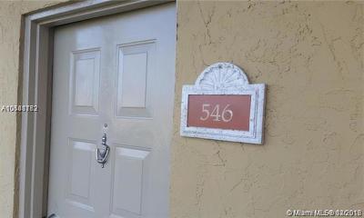 Doral Condo For Sale: 8290 Lake Dr #546