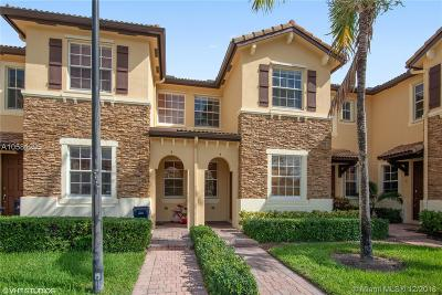 Cutler Bay Condo For Sale: 9123 SW 227th St #4