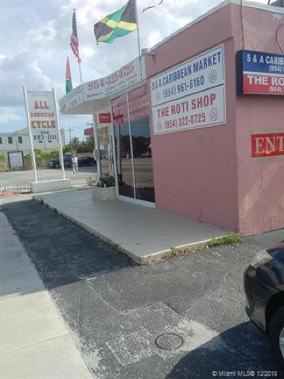 Miramar Commercial For Sale: 6232 Pembroke Rd