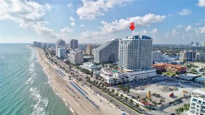 Fort Lauderdale Condo For Sale: 505 N Fort Lauderdale Beach Blvd #1709