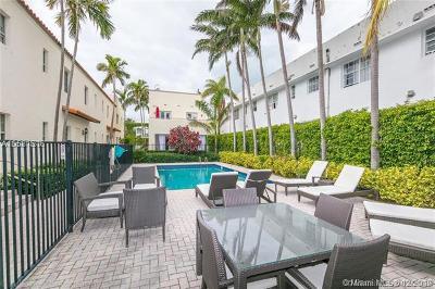 Miami Beach Condo For Sale: 1500 Pennsylvania Ave #4A