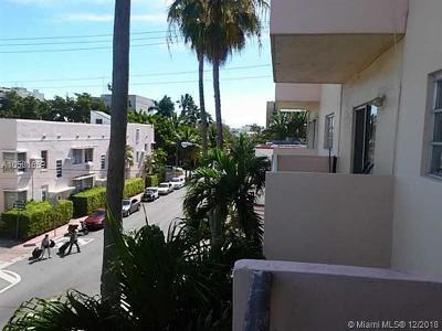 Miami Beach Condo For Sale: 855 Euclid Ave #303