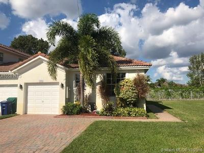 Miramar Single Family Home For Sale: 2501 SW 187th Ave