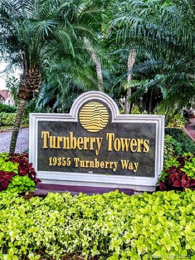 Aventura Condo For Sale: 19355 Turnberry Way #2F