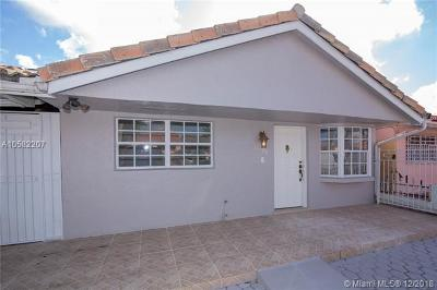 Hialeah Gardens Single Family Home For Sale: 11493 NW 88th Ave