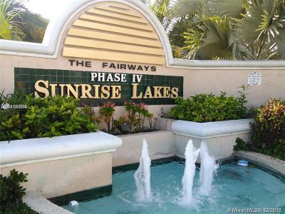 Sunrise Condo For Sale: 10456 NW 24th Pl #408