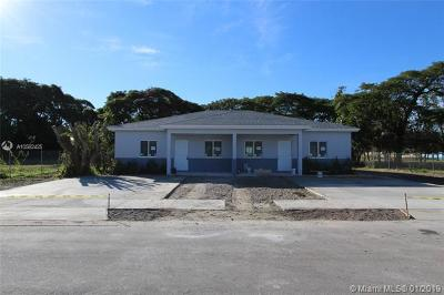 Miami Single Family Home For Sale: 12280 SW 218 St