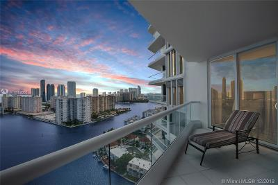 Aventura Condo For Sale: 2600 Island Blvd #2603