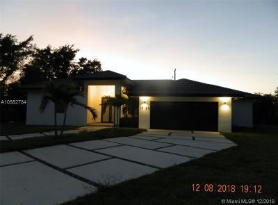 Miami Single Family Home For Sale: 19120 SW 127th Pl