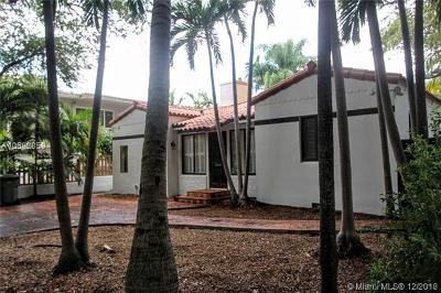 Coconut Grove FL Single Family Home For Sale: $719,000