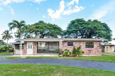 Broward County Single Family Home For Sale: 6257 NW 16th Ct