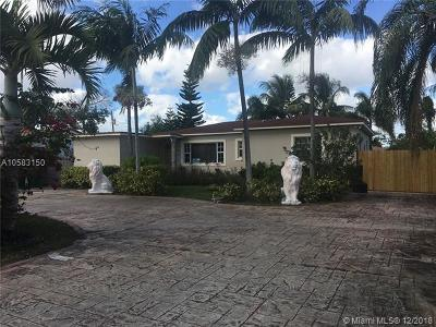 Miami Single Family Home For Sale: 261 NW 144th St