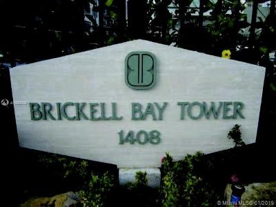 Brickell Bay Tower, Brickell Bay Tower Condo Condo For Sale: 1408 Brickell Bay Dr #416