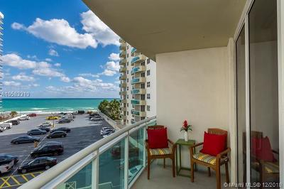 Hollywood Condo For Sale: 3001 S Ocean Dr #445