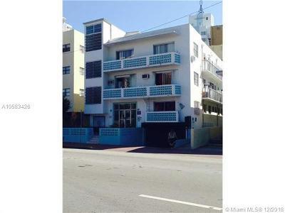 Miami Beach Condo For Sale: 4015 Indian Creek Dr #108