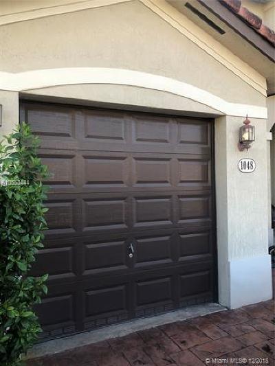 Miami Condo For Sale: 1048 NE 207th Ter