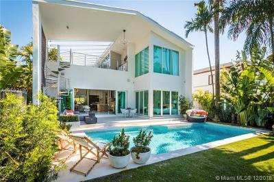 Miami Beach Single Family Home For Sale: 5344 La Gorce Dr
