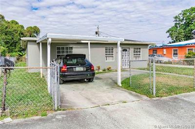 Miami Gardens Single Family Home For Sale: 2451 NW 152nd Ter
