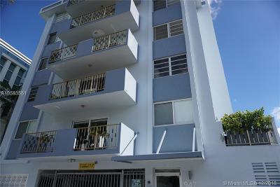 Miami Beach Condo For Sale: 947 E Lenox Ave #405