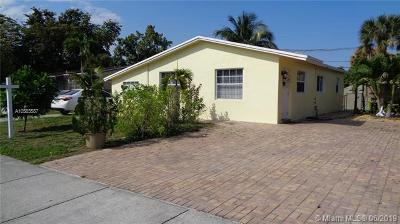 North Lauderdale Single Family Home For Sale: 6101 NW 42nd Ave