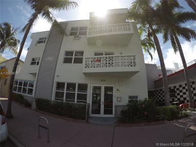 Miami Beach Condo For Sale: 524 Washington Ave #313