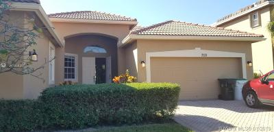 Coconut Creek Single Family Home For Sale: 7131 NW 48th Way