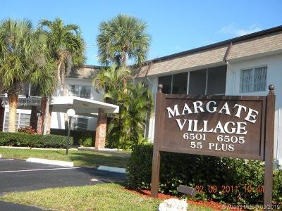 Margate Condo Active With Contract: 6501 Winfield Blvd #A-33