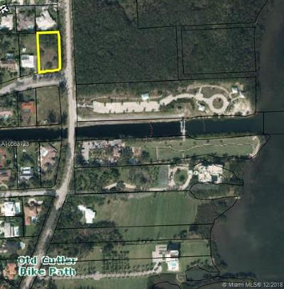 Palmetto Bay Residential Lots & Land For Sale: 173 Old Cutler Road