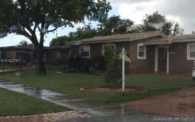 Hialeah Single Family Home For Sale: 8230 NW 171st St