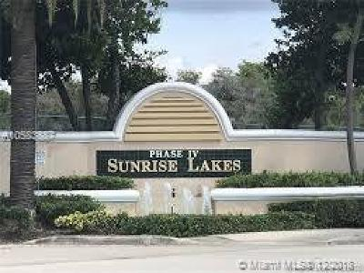 Sunrise Condo For Sale: 10331 Sunrise Lakes Blvd #207