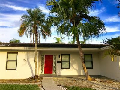Palmetto Bay Single Family Home For Sale: 15215 SW 78th Pl