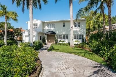 Miami Beach Single Family Home For Sale: 1585 Bay Dr