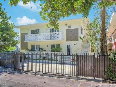 Miami Beach Condo For Sale: 626 Meridian Ave #6