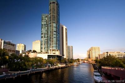 Fort Lauderdale Condo For Sale: 347 N New River Dr E #2306