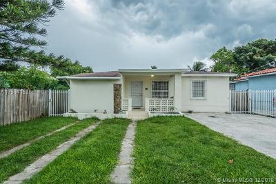 Miami Single Family Home For Sale: 2001 NW 33rd St